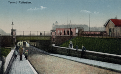 PBK-355 De Statentunnel bij de Beukelsdijk, uit het zuiden gezien.