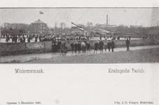 PBK-3651 Mensen op de baan van de IJsclub Kralingen aan de Kralingse Plaslaan.