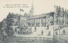 PBK-3766 Uitspanning Place des Pays-Bas aan de Kruiskade.