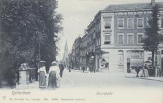 PBK-3767 Kruiskade, vanuit het westen. Op de achtergrond rechts de Westerkerk.