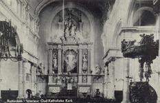 PBK-3861 Interieur van de oud-katholieke Paradijskerk aan de Lange Torenstraat.