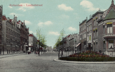 PBK-4021 Lusthofstraat, gezien vanaf de Voorschoterlaan.