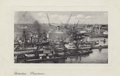 PBK-4421 Overslag van graan en andere producten bij schepen in de Maashaven.