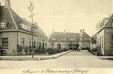 PBK-4553 Het Manpad in het eerste Rotterdamse tuindorp Vreewijk.