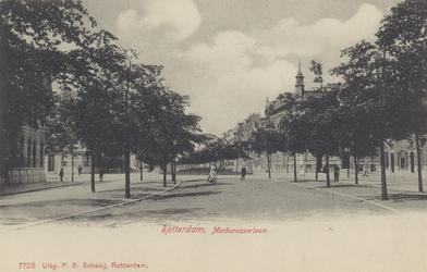 PBK-4578 Mathenesserlaan bij kruispunt Claes de Vrieselaan vanuit het oosten.