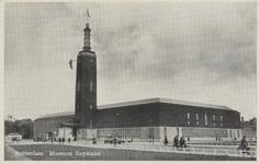 PBK-4608 Museum Boijmans Van Beuningen aan de Mathenesserlaan vanuit het noordwesten.