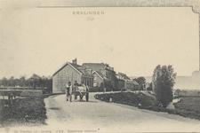 PBK-4764 Nesserdijk, Kralingseveer. Links het terrein van de waterleiding.