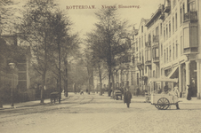 PBK-4799 Nieuwe Binnenweg tussen de Van Speykstraat (rechts) en de Mathenesserlaan, uit het oosten gezien.