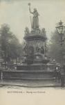PBK-4877 Het monument Maagd van Holland aan de Nieuwemarkt.
