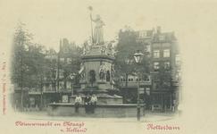 PBK-4881 Monument Maagd van Holland, opgericht ter herinnering van de feestviering op 1april 1872 en onthuld op 22 ...