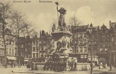PBK-4884 Gezicht op het monument Maagd van Holland aan de Nieuwemarkt,