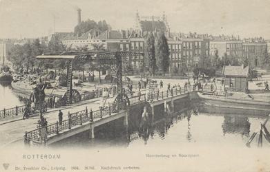 PBK-4920 Noorderbrug en het Noordplein, vanuit het noordoosten.