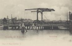 PBK-4925 Noorderbrug vanuit het zuidoosten naar het Oude Noorden toe.