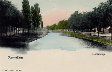 PBK-4954 Noordsingel. De zijstraat rechts is de Jacob Catsstraat.