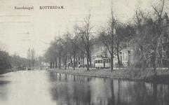 PBK-4965 Noordsingel met de Zomerhofbrug. De zijstraat rechts is de Tollensstraat.