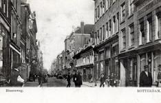 PBK-497 Winkelpanden en woningen aan de Oude Binnenweg, bij het Molenpad.
