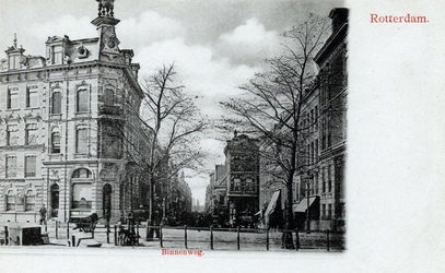 PBK-501 Binnenwegplein uit het oosten gezien, vanaf de Schiedamsesingel.