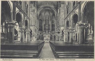 PBK-5015 Het interieur van de Kerk van het Allerheiligst Hart van Jezus (Oldekerk) aan de Van Oldenbarneveltstraat, ...