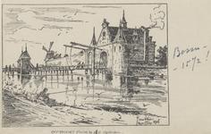PBK-5114 De Oostpoort omstreeks 1572.