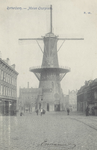 PBK-5170 Oostplein met molen De Noord, uit het zuiden.