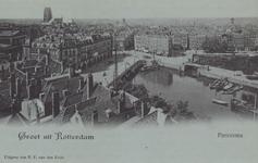 PBK-5304 Overzicht van de Oudehaven en omgeving, vanuit het zuidoosten.