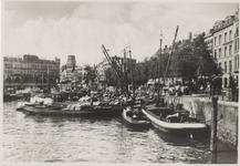 PBK-5324 Oudehaven, vanuit het zuiden, in de richting van Plan C aan de Oudehavenkade. Rechts de Spaansekade.