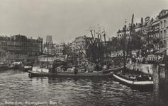 PBK-5325 Oudehaven, vanuit het zuiden, in de richting van Plan C aan de Oudehavenkade. Rechts de Spaansekade.