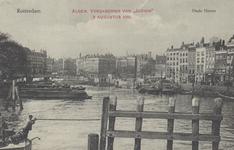 PBK-5331 Oudehaven, vanaf de Koningsbrug in de richting van de Oudehavenkade. Rechts de Spaansekade. Deze ...