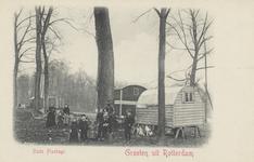 PBK-5397 Zigeunerfamilie met woonwagens in de Oude Plantage.