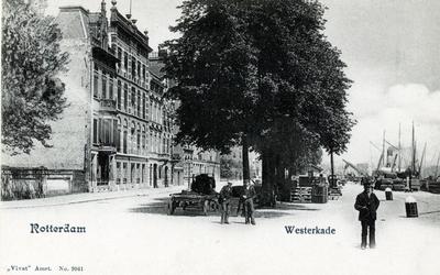 PBK-548 Westerkade. Vlak bij het Park, was de plaats waar de Harwichboten van de Great Eastern Railway Company ...