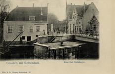 PBK-55 Gezicht op de Havenstraat met de Aelbrechtsbrug.
