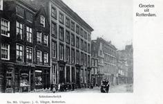 PBK-557 Het rooms-katholieke armhuis aan de Schiedamsedijk, later betrokken door het Leger des Heils.