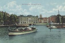 PBK-5670 Oudehaven met op de achtergrond Plan C aan de Oudehavenkade, uit het oosten gezien.