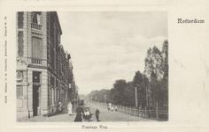 PBK-5731 Bebouwing aan de westzijde van Plantageweg, de latere Dr. Zamenhofstraat en rechts een gedeelte van de Nieuwe ...