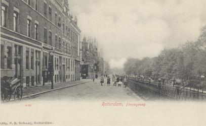 PBK-5736 Bebouwing aan de westzijde van Plantageweg, de latere Dr. Zamenhofstraat en rechts een gedeelte van de Nieuwe ...