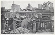 PBK-5781 Gezicht op de door het Duitse bombardement van 14 mei 1940 getroffen bioscoop Grand Theatre aan de ...