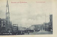 PBK-5854 Proveniersingel, uit het westen, vanaf het Proveniersplein. Rechts de Proveniersbrug.