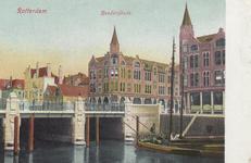 PBK-5905 Rederijbrug en de Rederijkade, vanuit het noordwesten, op de achtergrond de Rederijstraat.