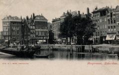 PBK-595 De Nieuwehaven met links de Slepersvest.