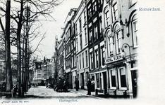 PBK-598 Haringvliet noordzijde. Rechts hotel Klein.
