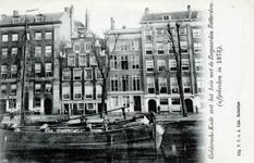 PBK-605 Gezicht op de Geldersekade. Op de voorgrond de Oudehaven.