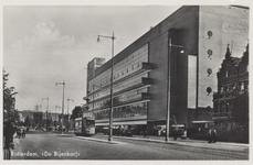 PBK-6187 Schiedamse Vest, uit het zuiden. Rechts het warenhuis De Bijenkorf.