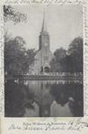 PBK-6197 De Waalse kerk aan de Schiedamse Vest. Op de voorgrond de Schiedamsesingel