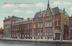 PBK-6285 Vooraanzicht van het Sint Franciscus Gasthuis aan de Schiekade.
