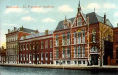 PBK-6286 Vooraanzicht van het Sint Franciscus Gasthuis aan de Schiekade.