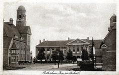 PBK-637 Gezicht op gebouw van de Nederlandse Economische Hogeschool ( voorheen Hogere Handelschool ) aan de Pieter de ...