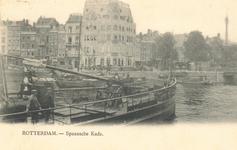 PBK-6431 Spaansekade met hotel Weimar, gezien vanaf de Geldersekade.