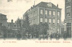 PBK-6491 Het Kinderhuis van de Nederlandse Hervormde gemeente aan de Van Speykstraat 149.