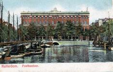 PBK-696 Gezicht op de Blaak. Op de achtergrond het postkantoor aan het Beursplein, uit het westen.