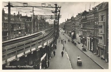 PBK-7017 Vijverhofstraat, uit het zuidoosten, naar de Bergweg toe gezien.